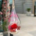 Hanging forever rose