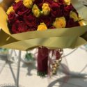 Red & yellow rose