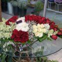 160cm table flowers