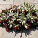 190cm table flowers