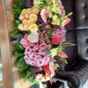 180 cm table flowers