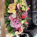 180 cm table flowers