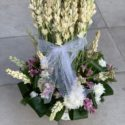 Basket flowers for congratulation